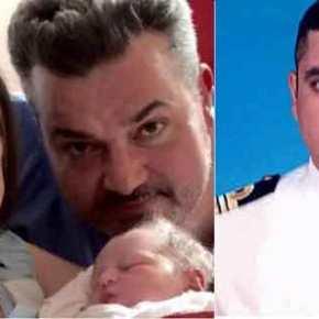 Βαφτίζεται ο γιος του πιλότου του ΠΝ Κωνσταντίνου Πανανά που χάθηκε στηνΚίναρο