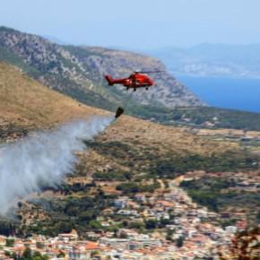 Πυρκαγιές σε Αττική, Μάνη,Εύβοια