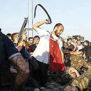 ΕΚΤΟΣ ΕΛΕΓΧΟΥ Η ΚΑΤΑΣΤΑΣΗ ΣΤΗ ΤΟΥΡΚΙΑ: Πολίτες ξυλοκοπούν και ξεβρακώνουν στρατιώτες που παραδίνονται(ΦΩΤΟ)