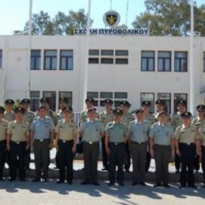 Επίσκεψη Αντιπροσωπείας Αξιωματικών Κίνας στη ΣΠΒ -Φωτογραφίες.