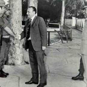 ΚΥΠΡΟΣ 1974:Ο διοικητής των υπερασπιστών της Λευκωσίας Δ.Αλευρομάγειρος στοMilitaire