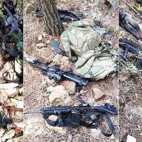 Βρέθηκαν στην Μαρμαρίδα τα όπλα τωνκομάντος!