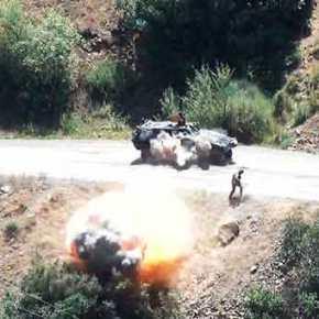 Μαζικές επιθέσεις του PKK: Τρέχουν πανικόβλητοι να σωθούν οι Τούρκοι στρατιώτες(φωτό,vid)