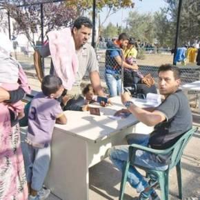 Στους 57.105 ανέρχονται οι πρόσφυγες σε όλη τη χώρασήμερα