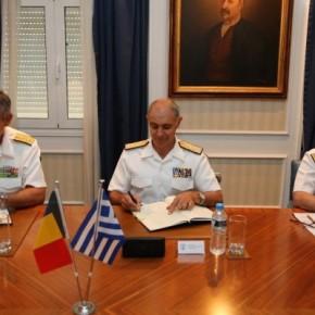 Ρουμάνοι ναυτικοί στα πλοία του ΠΝ για τις διεθνείς επιχειρήσεις –ΦΩΤΟ