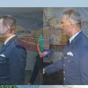 Αυτοί είναι οι πιλότοι του CL 215 που έκαναν την επιτυχημένη αναγκαστικήπροσγείωση
