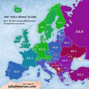 Ελλάδα: Τελευταίοι στην Ευρωζώνη όμως καλύτεροι στα Βαλκάνια Το να αξιολογήσεις σε ποια χώρα είναι καλύτερα κάποιος να ζει, σίγουρα εξαρτάται από πάρα πολλούςπαράγοντες.