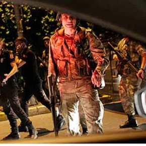 """ΤΟΥΡΚΙΑ: Τα """"στατιστικά"""" του πραξικοπήματος! Ποιοι συμμετείχαν και τι όπλαχρησιμοποίησαν"""