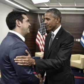 Τσίπρας – Ομπάμα: Η γραβάτα και ο «φίλος σου οΠούτιν»