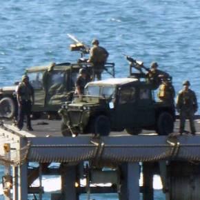 Αμερικανοί ναύτες ετοιμάζονται να βάλλουν κατά τουρκικών στόχων στα Στενά – Με το ένα «πόδι» εκτός ΝΑΤΟ η Τουρκία (φωτό, vid)ΣΤΟ ΙΝΤΣΙΡΛΙΚ ΣΧΕΔΙΑΣΤΗΚΕ ΤΟ ΠΡΑΞΙΚΟΠΗΜΑ ΛΕΝΕ ΟΙΤΟΥΡΚΟΙ