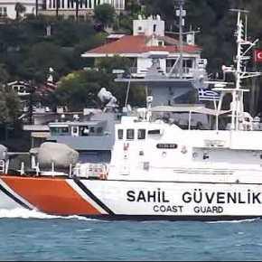 Η καλύτερη πυραυλάκατος του κόσμου,η ελληνική Ρ-70 Γρηγορόπουλος,διαπλέει τονΒόσπορο