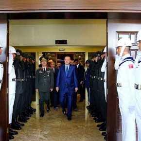 Ο Ερντογάν στο Αρχηγείο Ενόπλων Δυνάμεων για πρώτη φορά μετά από το πραξικόπημα-Βίντεο