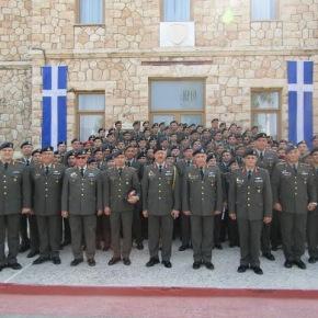 Αποφοίτηση Λοχαγών Τμήματος Προκεχωρημένης Εκπαίδευσης της ΣχολήςΠεζικού