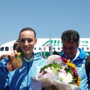 Η «χρυσή» Άννα στην Ελλάδα: Δεν θα ξεχάσω ποτέ τις δυσκολίες «Θέλω να γίνω κίνητρο για τα νέα παιδιά» δήλωσε η χρυσή Ολυμπιονίκης τουΡίο