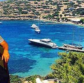 Οι περίεργες συμπτώσεις με τις διακοπές Νταβούτογλου σε νησιά τουΑιγαίου