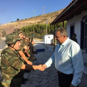 Έκτακτη επίσκεψη Καμμένου στην 8η Μηχανοποιημένη Ταξιαρχία –ΦΩΤΟ