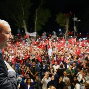 Τουρκία: Επίδειξη ισχύος του Ερντογάν με τεράστια συγκέντρωση στην Κωνσταντινούπολη