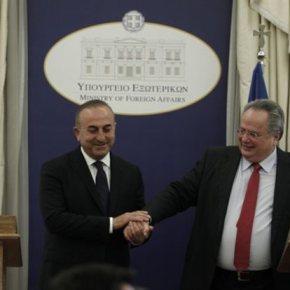 Ραντεβού στην Κρήτη -Με τον τούρκο ΥΠΕΞ συναντάται την Κυριακή ο Νίκος Κοτζιάς  Η πρώτη επίσκεψη τούρκου αξιωματούχου στην Ελλάδα μετά την απόπειρα πραξικοπήματος της 15ηςΙουλίου