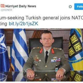 Γκάφα της Χουριέτ! Εμφανίζει Έλληνα στρατηγό να ζητάειάσυλο!