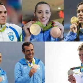 ΟΛΥΜΠΙΑΚΟΙ ΑΓΩΝΕΣ -Οι Έλληνες Ολυμπιονίκες τουΡίο