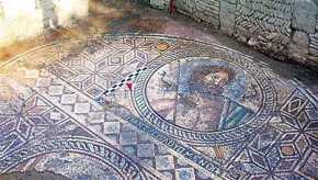 Παντού Ελλάδα: Aνακαλύφθηκε ψηφιδωτό με ελληνική επιγραφή του Ποσειδώνα στην κεντρική Τουρκία(φωτό)