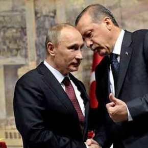 """Πούτιν μιλά διαρκώς με Ερντογάν! Σωτηρία από το """"ξανθό γένος""""αναβάλλεται…"""
