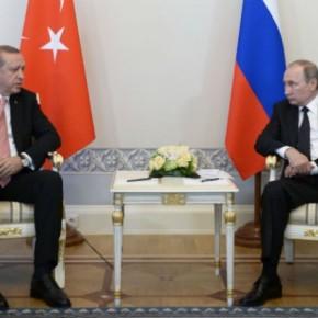 Πούτιν και Ερντογάν τα είπαν… σανφίλοι