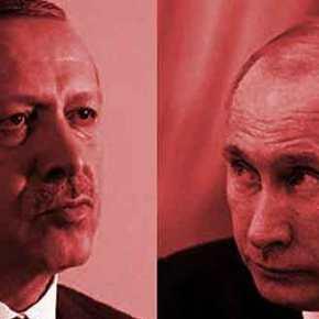 Ερντογάν Πούτιν σ΄ένα τετ α τετ που προκαλεί παγκόσμιοενδιαφέρον