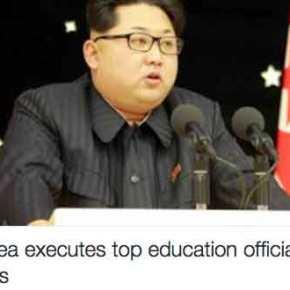 Για εκτέλεση του υπουργού Παιδείας στη Βόρεια Κορέα μιλά ηΣεούλ