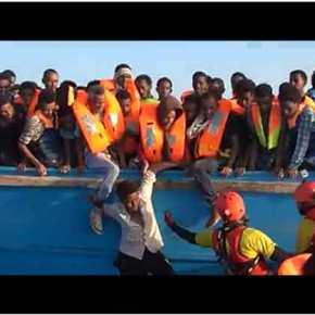 Εκτός ελέγχου η μετανάστευση στη Μεσόγειο! 10.000 στην Ιταλία σε 48 ώρες!ΒΙΝΤΕΟ