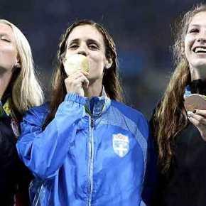 Πέφτει η αυλαία στο Ρίο-Σημαιοφόρος η χρυσή ολυμπιονίκης Κ.Στεφανίδη