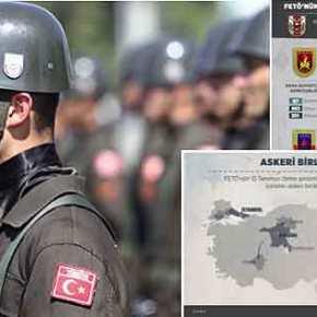 Οι μετακινήσεις των τουρκικών μονάδων και οι διώξεις των στρατιωτικών σε δυογραφήματα