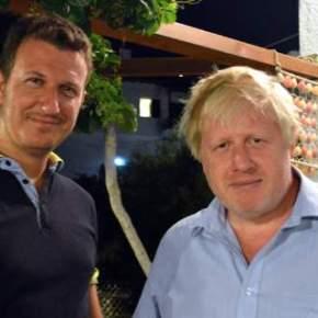 Ο Μπόρις Τζόνσον στο Πήλιο: «Η Ελλάδα με συναρπάζει»ΔΙΑΚΟΠΕΣ ΣΤΗΝ ΕΛΛΑΔΑ ΓΙΑ ΤΟΝ ΒΡΕΤΑΝΟΥΠΕΞ