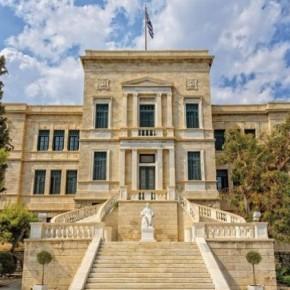 Σε ευρωπαϊκά πρότυπα -Το Βασσάνειο Μέγαρο το συγκρότημα που στεγάζει τη Σχολή ΝαυτικώνΔοκίμων.