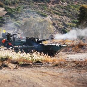 ΘΑΝΑΤΗΦΟΡΟΣ ΣΥΝΔΥΑΣΜΟΣ Βίντεο: Δεκάδες ελληνικά ΤΟΜΑ ΒΜΡ-1 με πυροβόλο ZU-23-2 αναπτύχθηκαν στα νησιά τουΑ.Αιγαίου!