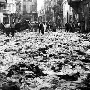 Έγκλημα Τούρκων κατά του Ελληνισμού της Πόλης: 6 Σεπτεμβρίου1955