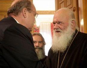 Ο Αρχιεπίσκοπος αρνήθηκε συνάντηση στον Ν.Φίλη