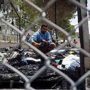 Πρόκληση εξέγερσης από «αόρατα κέντρα» με διάδοση ψευδούς φήμης: Πακιστανοί βγήκαν στους δρόμους της Μυτιλήνης και τα έκανανρημαδιό