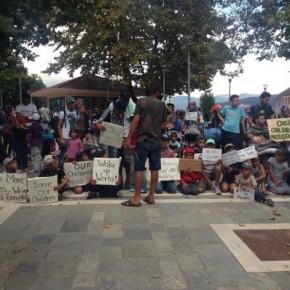 Ιωάννινα: Διαμαρτυρίες και πορεία των προσφύγων στονΚατσικά