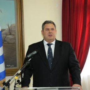 Π.Καμμένος: Καμία εργασία δεν θα πραγματοποιηθεί στο παλιό στρατόπεδο τηςΛεμονούς