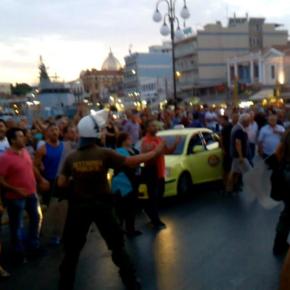 ΣΟΚ ΚΑΙ ΠΡΟΚΛΗΣΗ ΣΤΗ ΜΥΤΙΛΗΝΗ! Προσπάθεια Διακοπής της Υποστολής Ελληνικής Σημαίας!!-ΒΙΝΤΕΟ .
