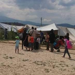 Ξεσηκώθηκαν πάλι οι μετανάστες στον καταυλισμό τουΚατσικά