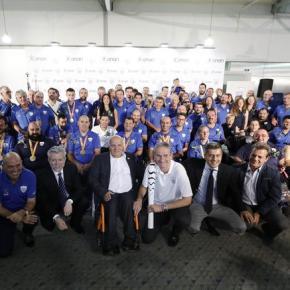 Mε 13 μετάλλια επέστρεψαν οι Έλληνες αθλητές από τους Παραολυμπιακούς Αγώνες του Ρίο-Φωτογραφίες.