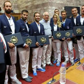 Μια Βουλή… ολυμπιακών διαστάσεων -ΤΙ ΖΗΤΗΣΕ ΑΠΟ ΤΟΥΣ 300 Η ΕΘΝΙΚΗ ΑΠΟΣΤΟΛΗ ΤΟΥΡΙΟ