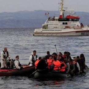 Διάσωση 12 προσφύγων ανοιχτά τηςΛέρου