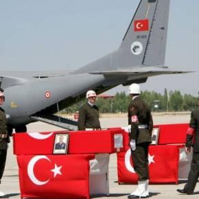 Η ΕΛΛΕΙΨΗ ΕΜΠΕΙΡΟΠΟΛΕΜΩΝ ΣΤΕΛΕΧΩΝ ΕΧΕΙ ΦΕΡΕΙ ΤΗΝ ΑΠΟΔΙΟΡΓΑΝΩΣΗ ΣΤΙΣ ΤΟΥΡΚΙΚΕΣ ΕΔ Bαριές απώλειες των Τούρκων στις επιχειρήσεις κατά του ΡΚΚ: 86 νεκροί και 58τραυματίες