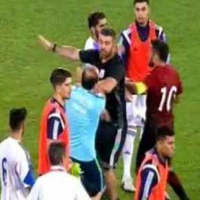 Σοβαρά επεισόδια και ξύλο στον ποδοσφαιρικό αγώνα Κύπρου-Τουρκίας: Προκλητικοί οι Τούρκοι παίκτες(βίντεο)