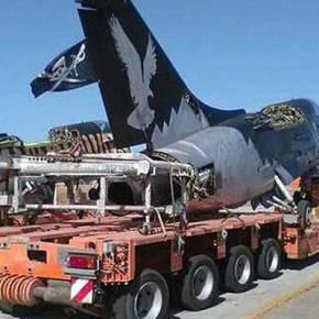 Που πάνε τα Α-7 Corsair; Φωτογραφίες από τη μεταφορά τους στην τελευταία βάσητους