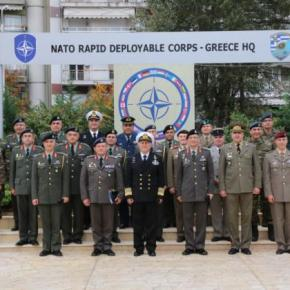 Επίσκεψη Αρχηγού ΓΕΕΘΑ στο Γ'ΣΣ/NRDC-GR