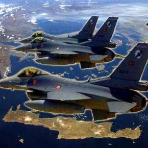 Προκαλεί η Τουρκία με 46 παραβιάσεις στο Αιγαίο μέσα σε μιαμέρα!